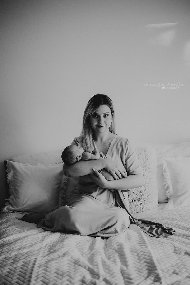 Monika Borlin Photography Sesja noworodkowa Warszawa LK 26