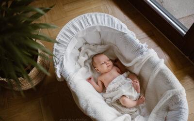 Jak przeprowadzić sesję noworodkową z niespokojnym maluszkiem?